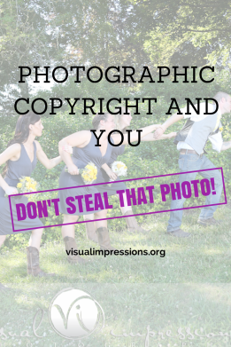 Photographic Copyright and You